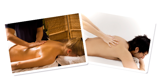 Full body massage at Happy Health Clinics